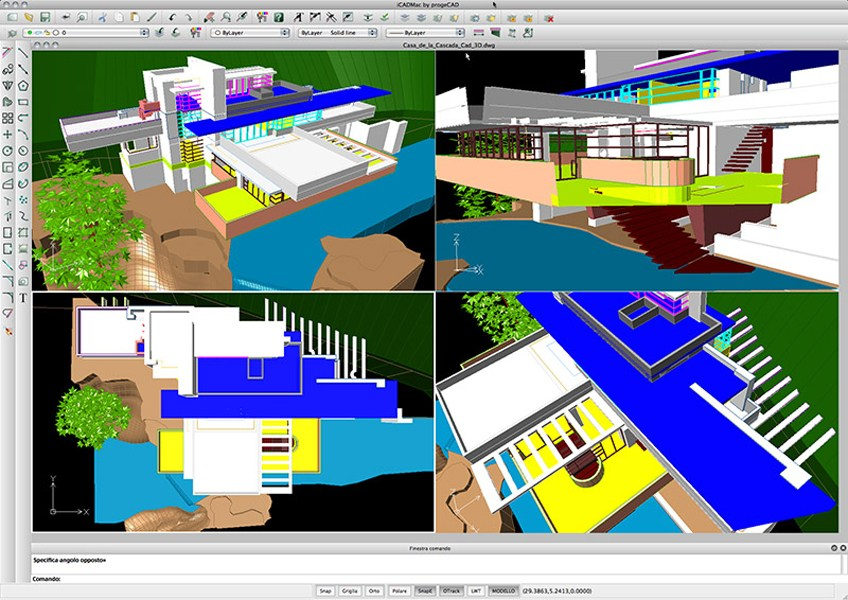 Disegno tecnico cad 2d 3d icadmac by progesoft italia for Disegno 3d free