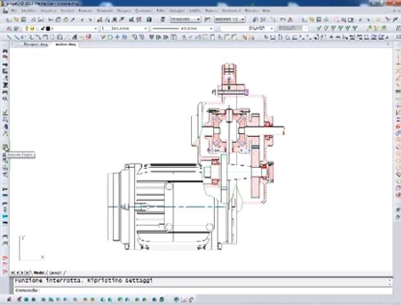 Disegno tecnico cad 2d 3d progecad mechanical progesoft italia - Software per disegnare mobili ...