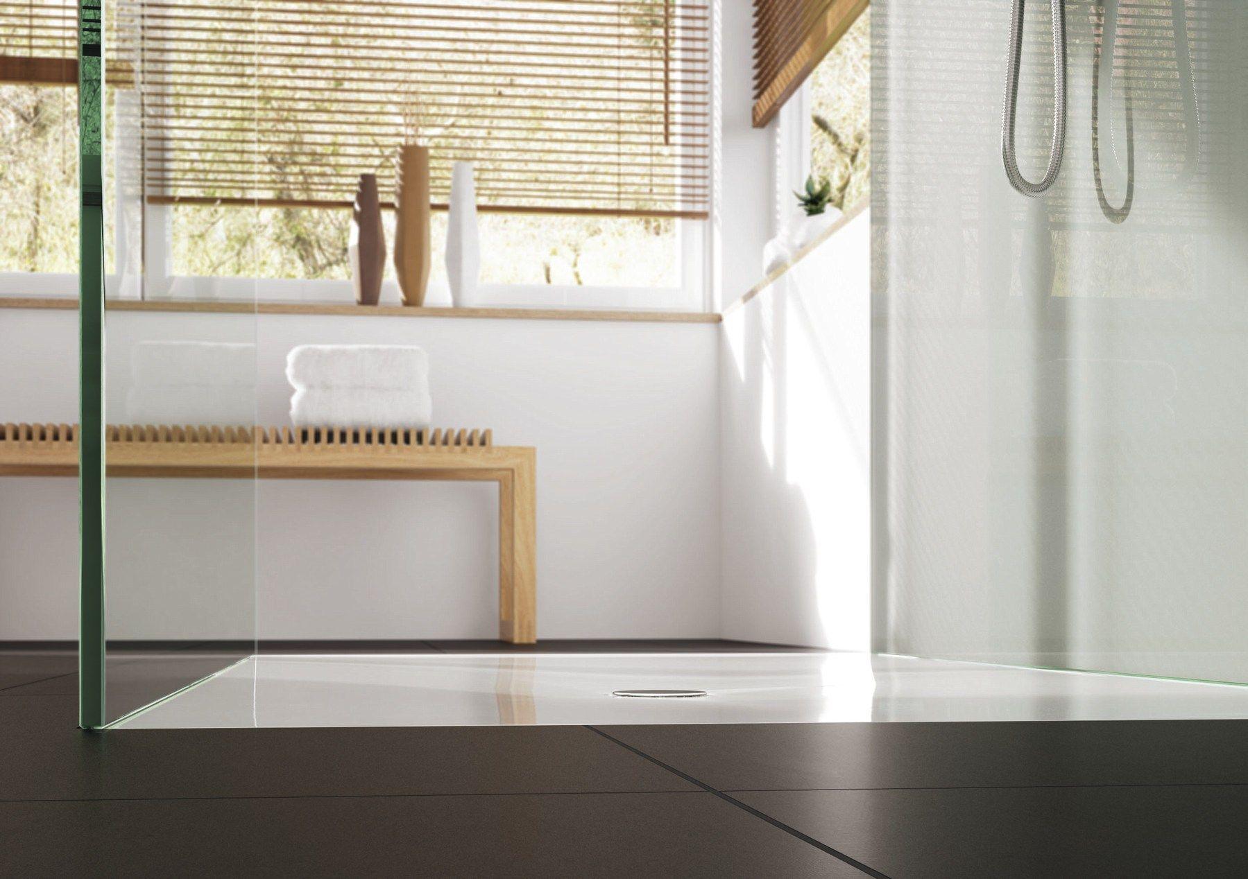 piatto doccia filo pavimento rettangolare in acciaio smaltato scona by kaldewei italia. Black Bedroom Furniture Sets. Home Design Ideas