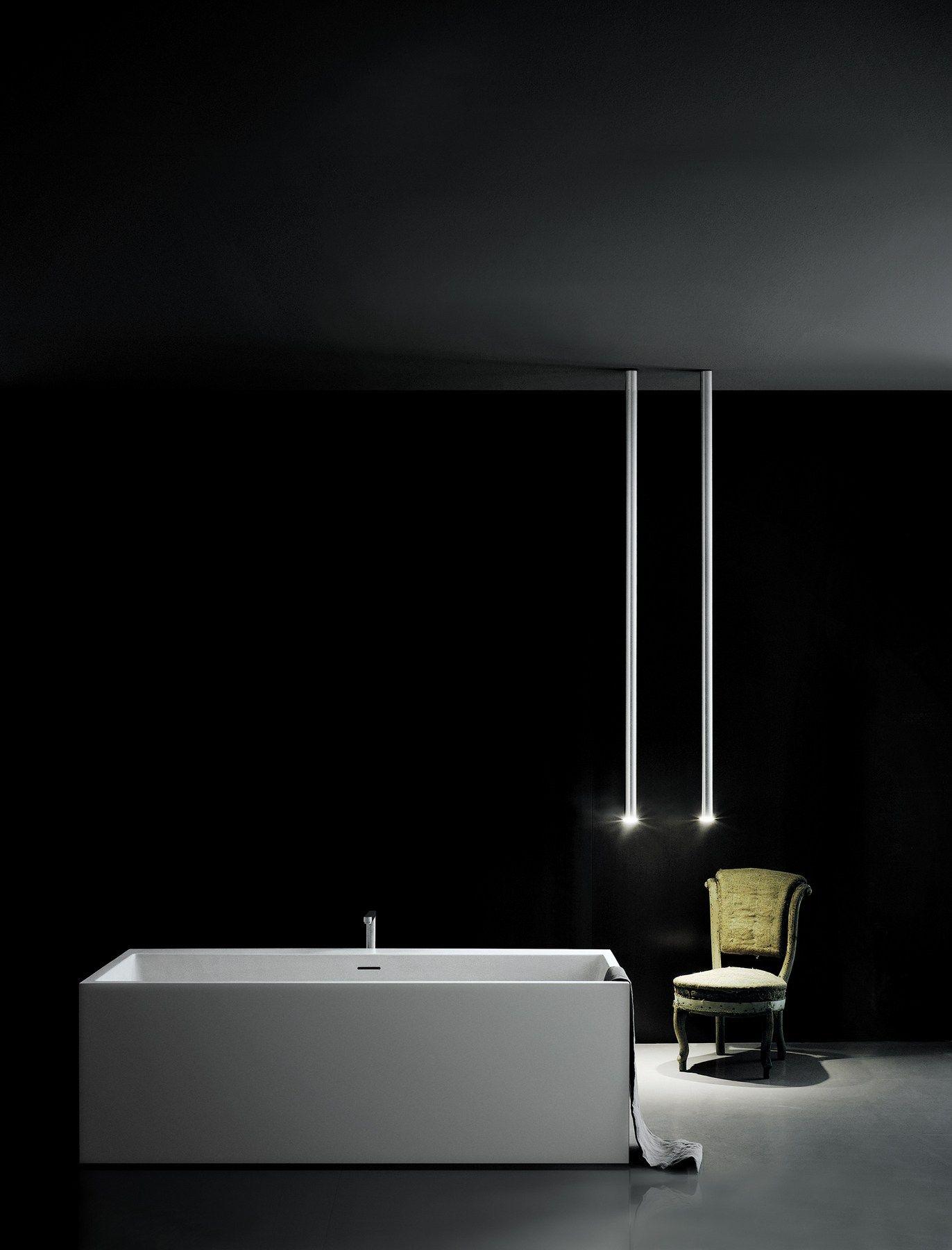 Lampada a sospensione a led in alluminio l o p led organ for Lampada tubolare led