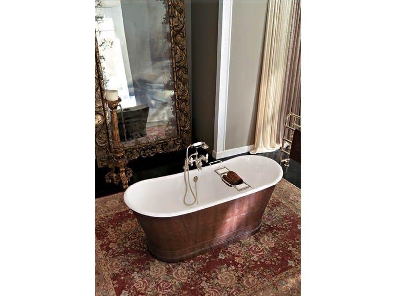 York vasca da bagno centro stanza by gentry home - Vasca da bagno nera ...