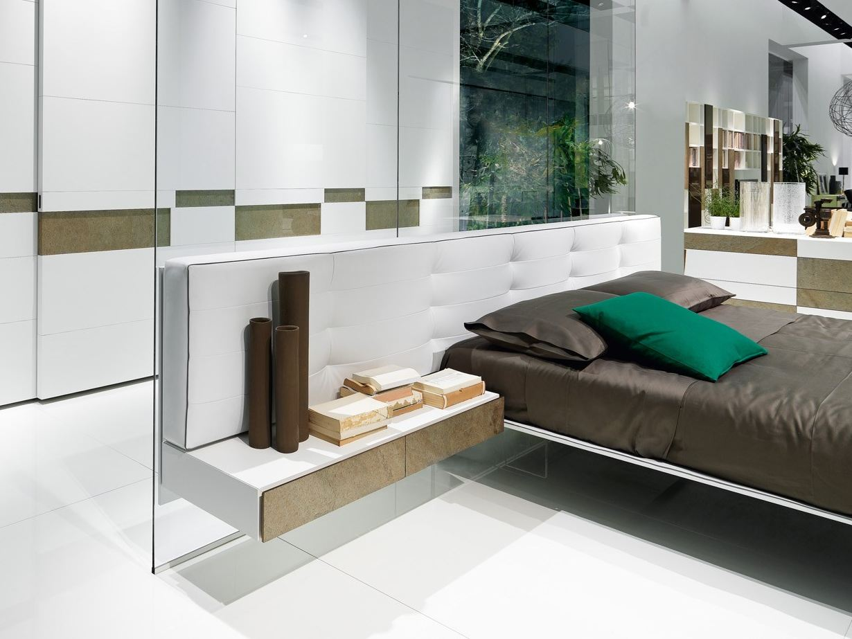 Wing bedside table by presotto industrie mobili design for Presotto industrie mobili