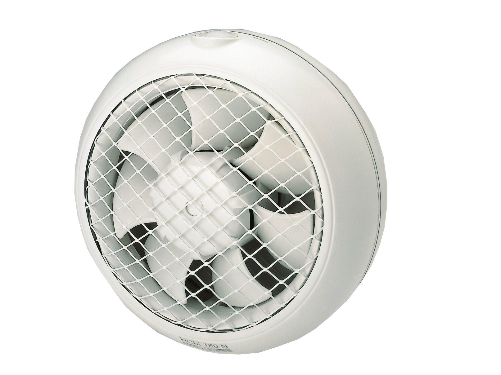 Ventilatore elicoidale da vetro o parete HCM-N by S & P Italia