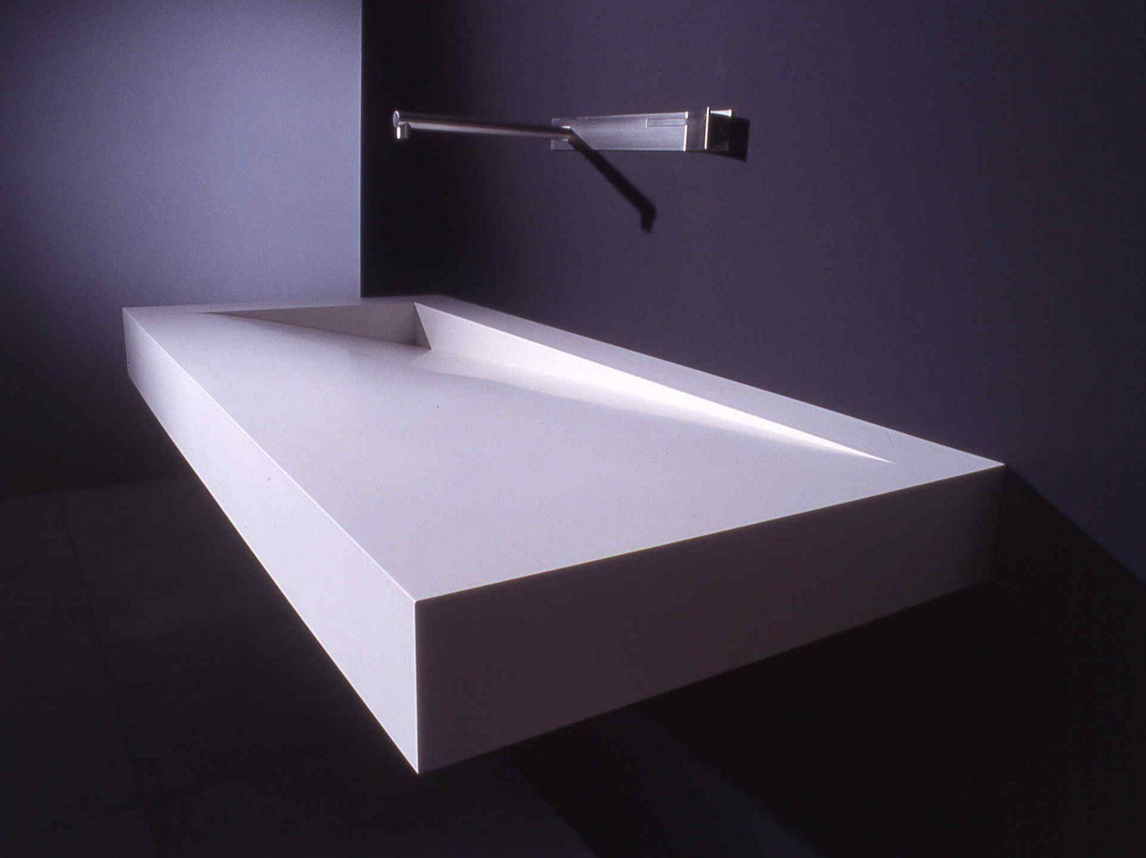 lavabo rectangulaire en corian folio by boffi design. Black Bedroom Furniture Sets. Home Design Ideas