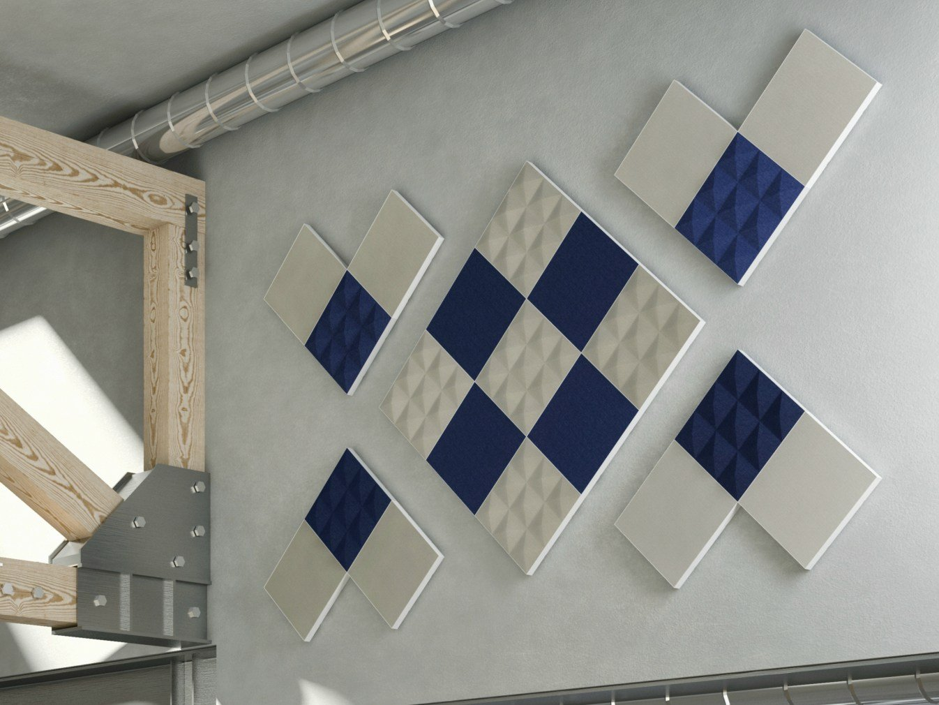 Polyester Decorative Acoustical Panels Stilly Gaber Acoustic Systems Collection By Gaber