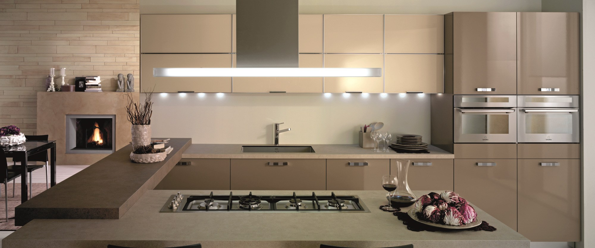 Fitted kitchen chia by del tongo - Del tongo cucina ...