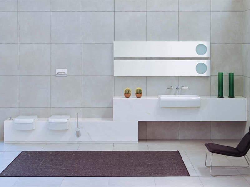 Una bidet by ceramica flaminia design romano adolini - Flaminia sanitari bagno ...