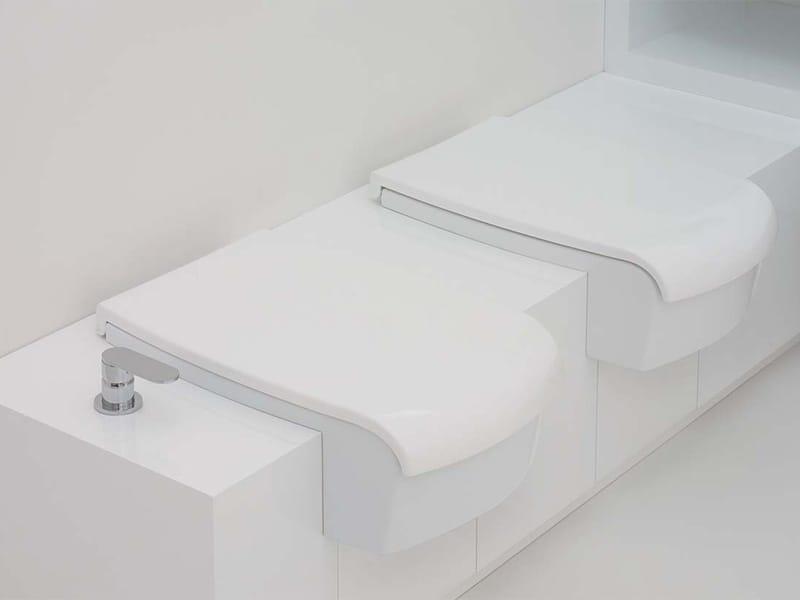 Una wc by ceramica flaminia design romano adolini - Flaminia sanitari bagno ...