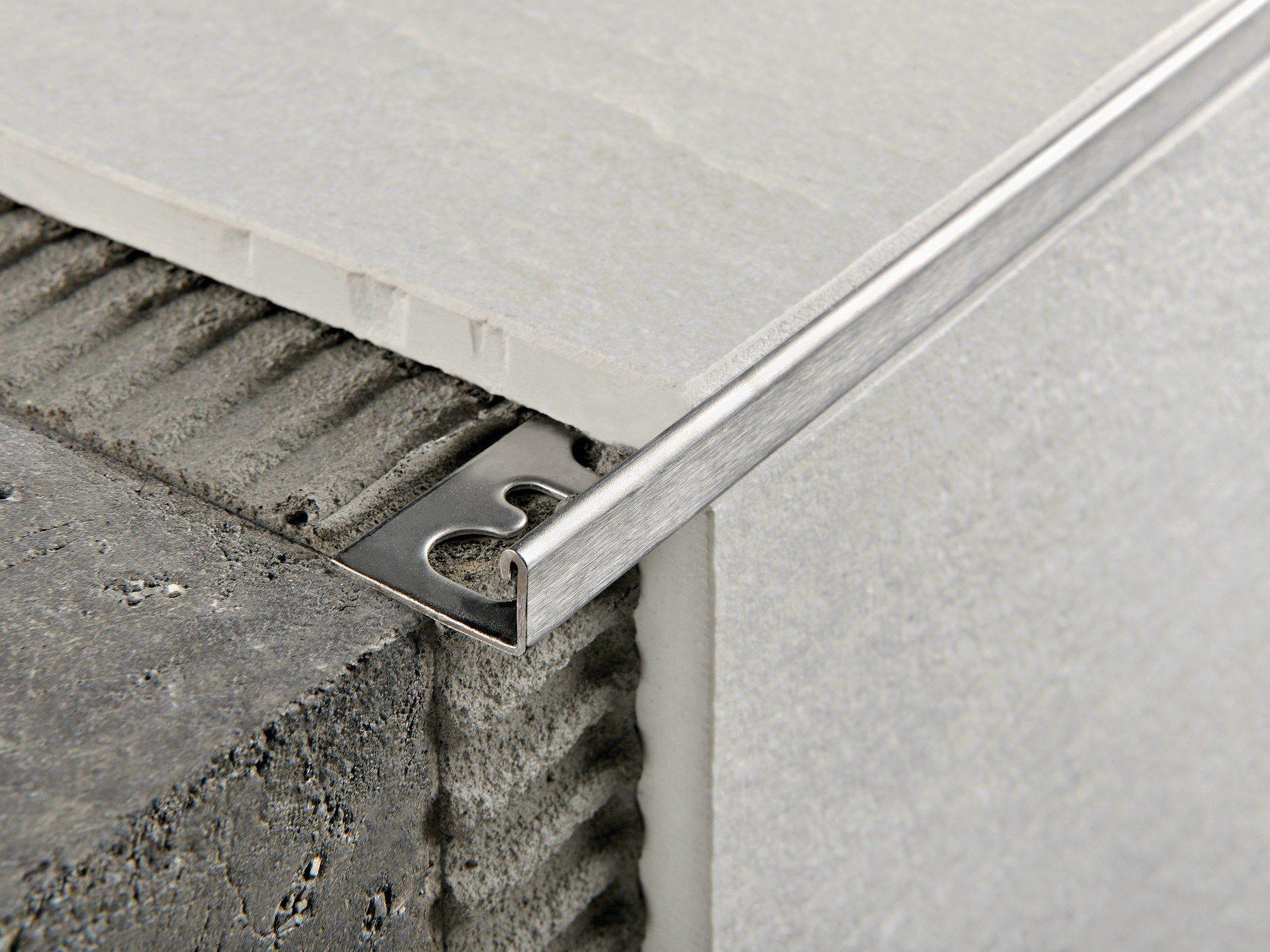 Proterminal profil de protection des marches en acier - Profile u acier ...