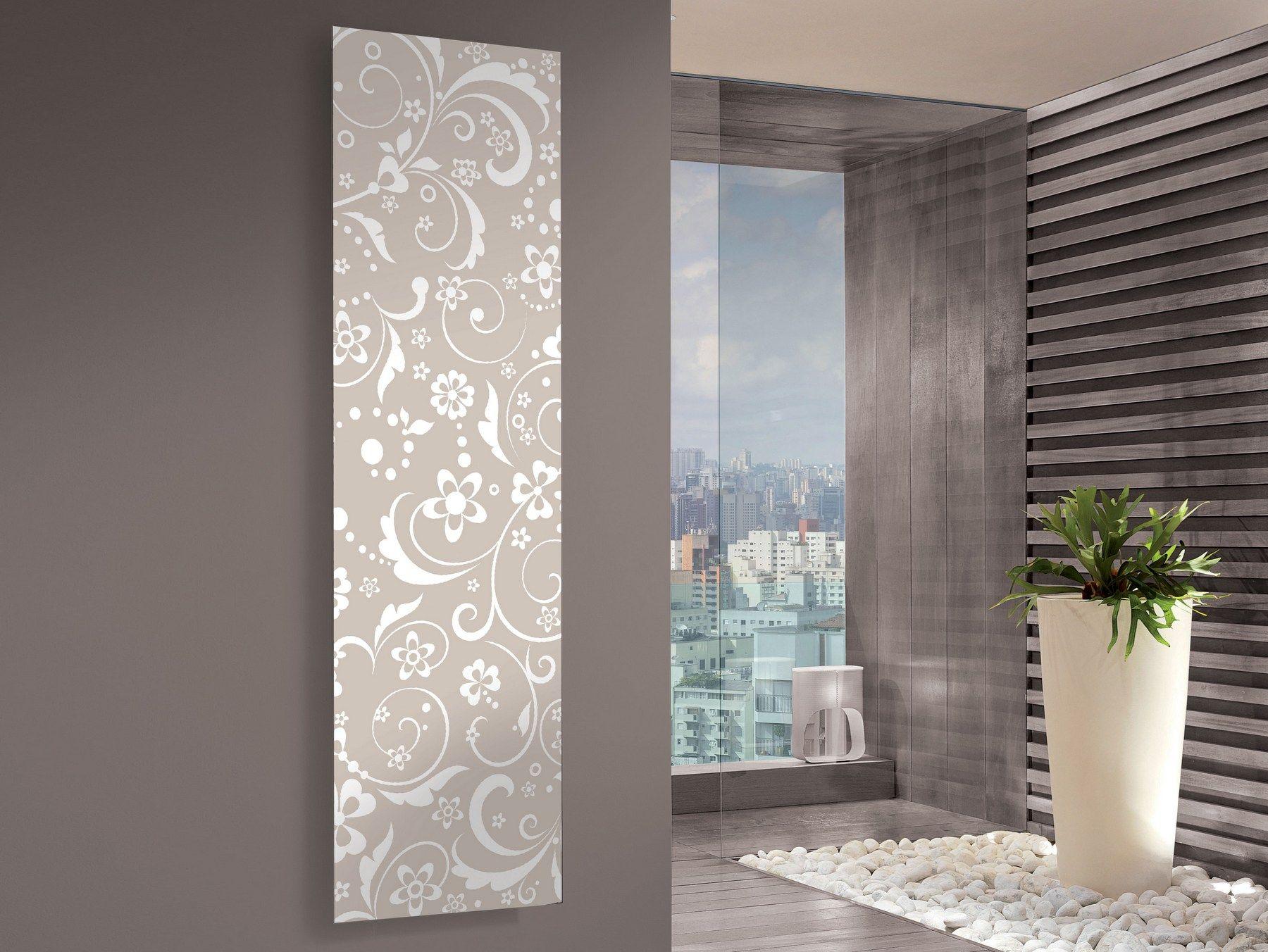 Radiateur décoratif à panneau vertical iris by cordivari
