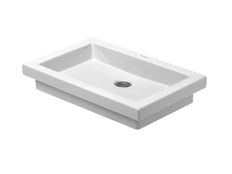 2nd floor countertop washbasin by duravit design sieger design. Black Bedroom Furniture Sets. Home Design Ideas
