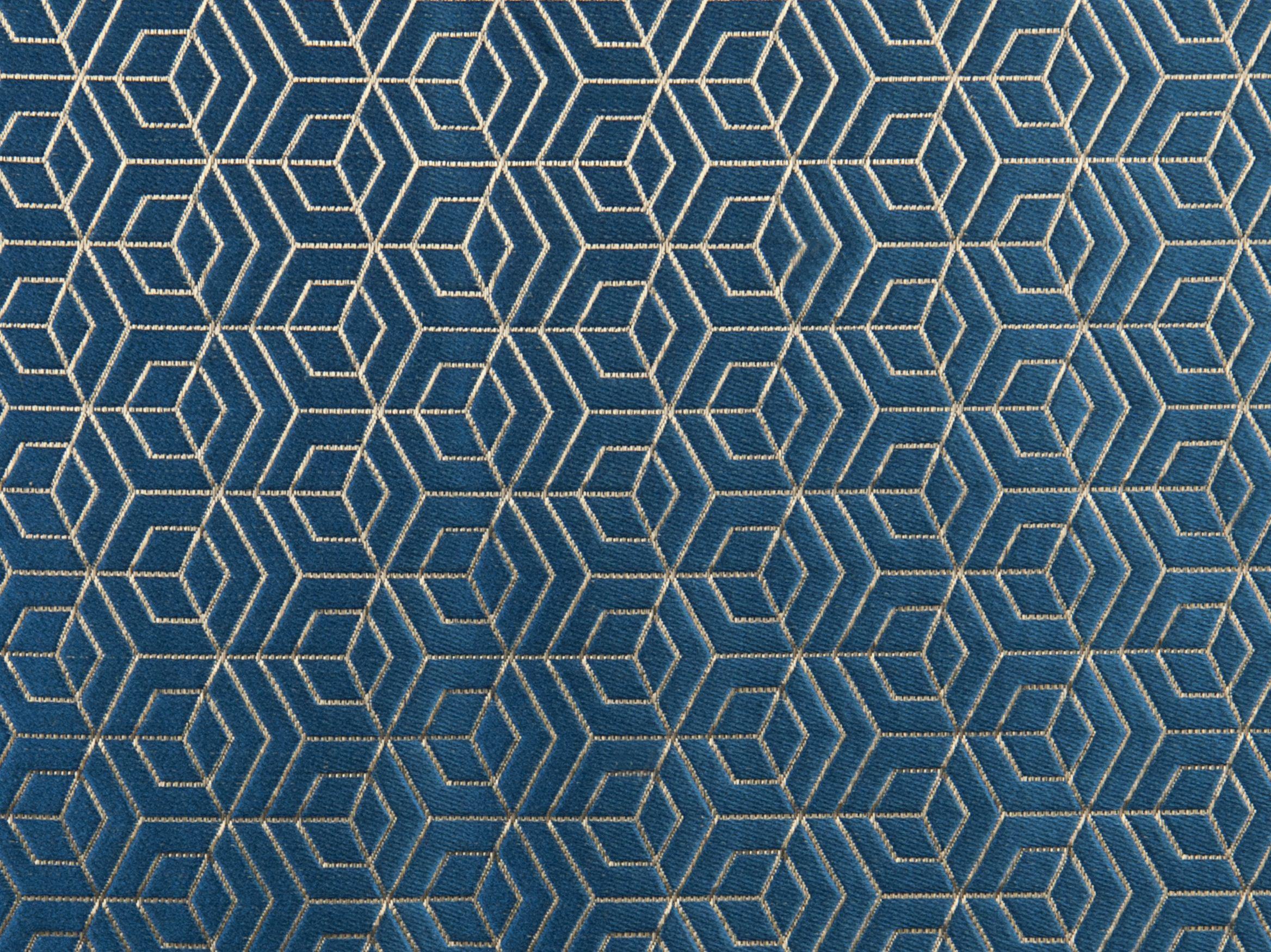 Tissu d 39 ameublement motifs graphiques hoopstar by aldeco for Tissu d ameublement design
