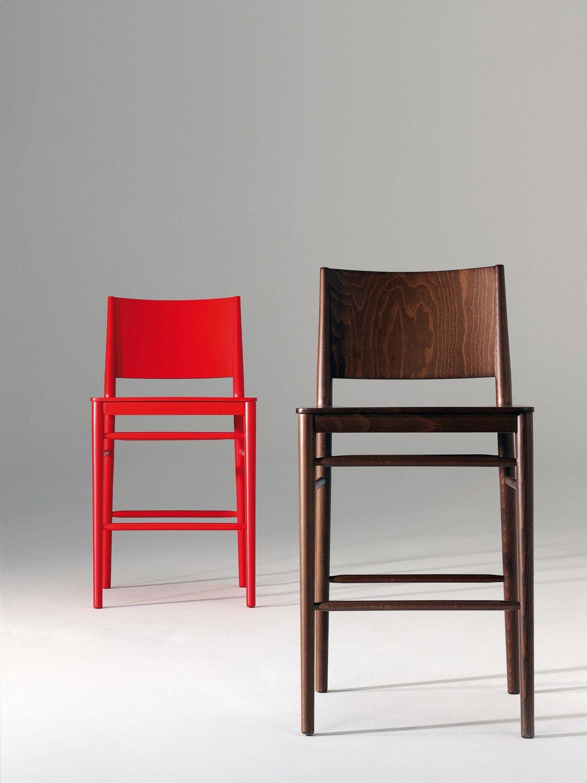 Tracy sedia alta by billiani design emilio nanni for Sedia alta