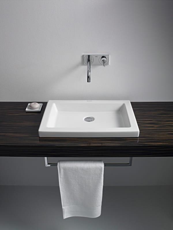 2nd floor lavabo da incasso soprapiano by duravit design sieger design. Black Bedroom Furniture Sets. Home Design Ideas