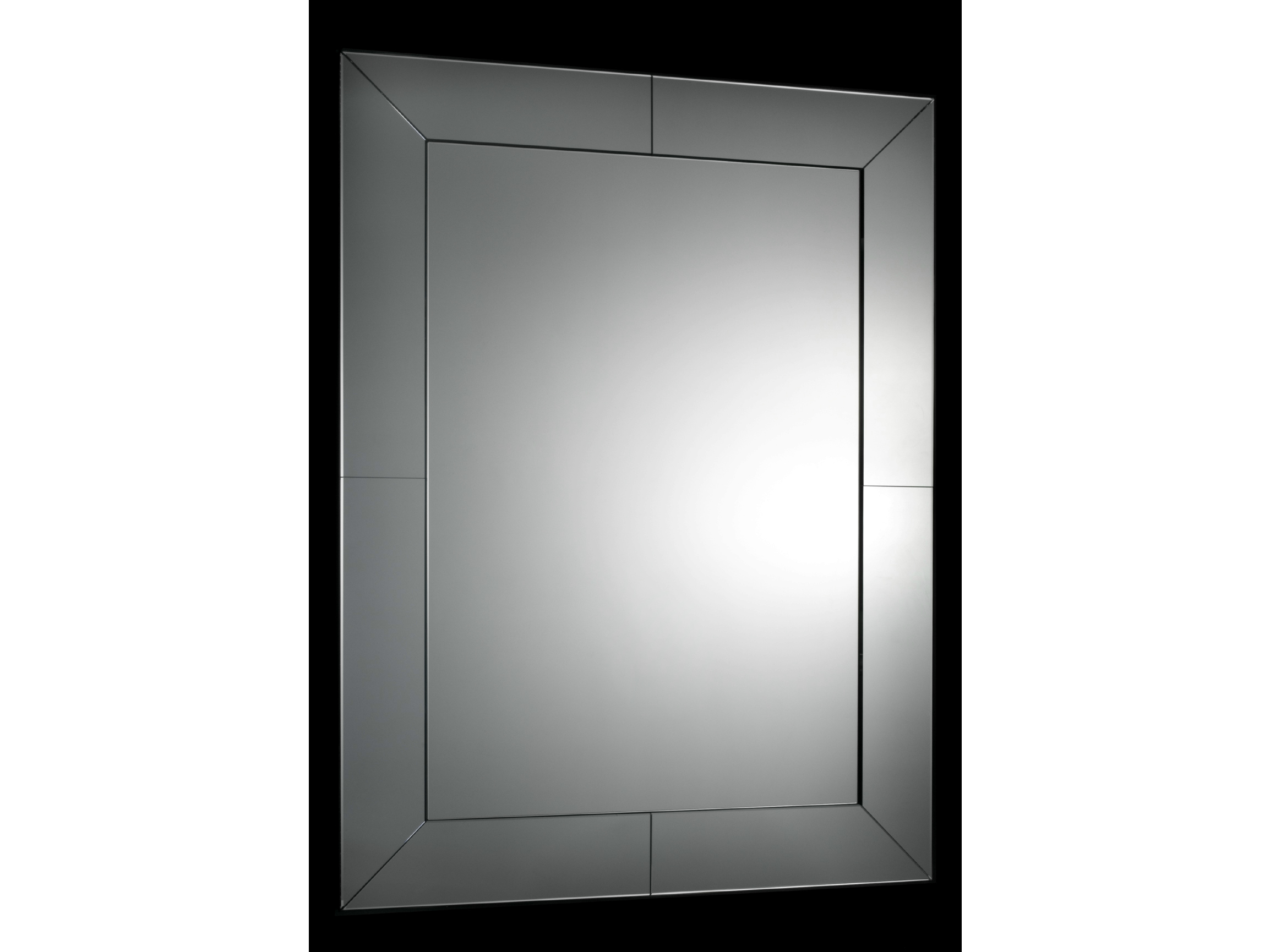 Miroir mural avec cadre pour salle de bain veneziana by for Miroir 3 volets salle de bain