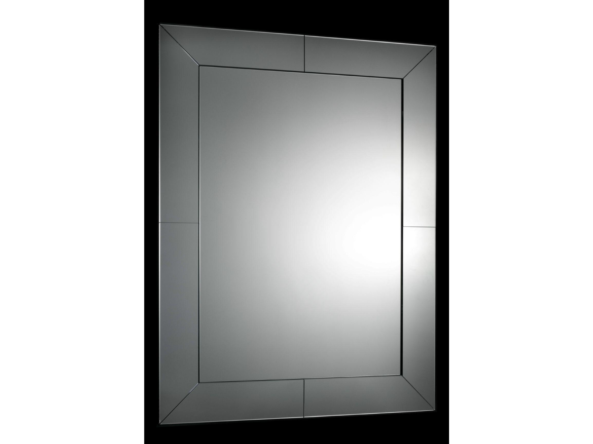 Miroir mural avec cadre pour salle de bain veneziana by for Miroir salle de bain cadre noir