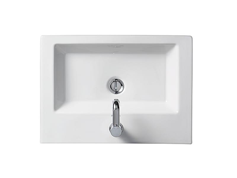 2nd floor vasque encastrer by duravit design sieger design - Vasque salle de bain a encastrer ...
