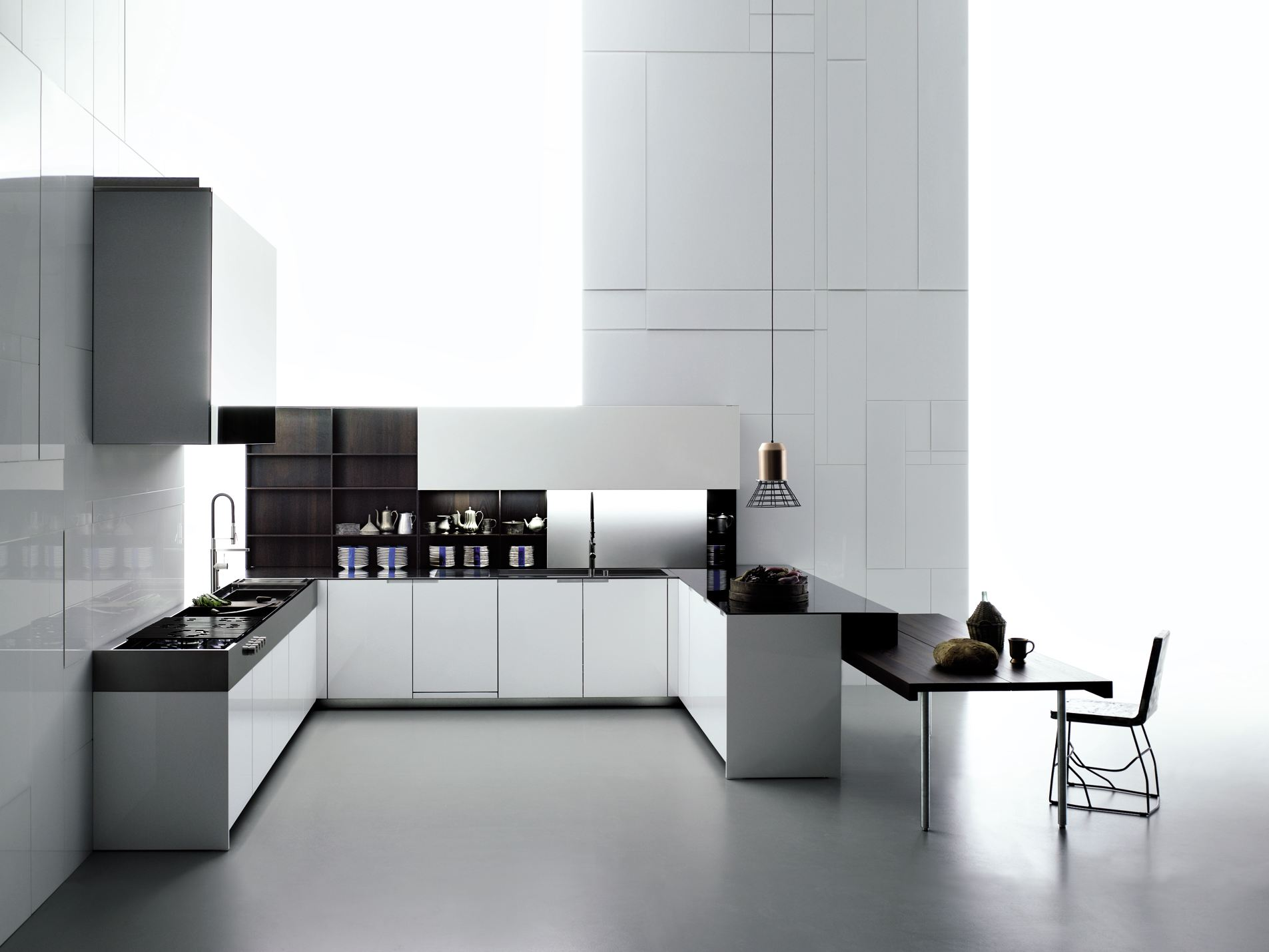 cuisine aprile by boffi design piero lissoni. Black Bedroom Furniture Sets. Home Design Ideas