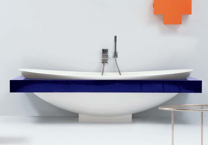 io vasca da bagno centro stanza by ceramica flaminia design triplan