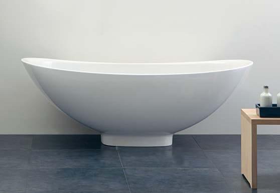 Io vasca da bagno by ceramica flaminia design triplan - Vasca da bagno in ceramica ...