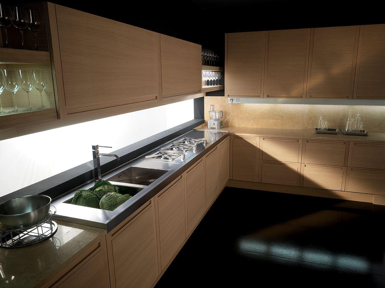 Milano cuisine lin aire by biefbi design fred allison for Cuisine lineaire design