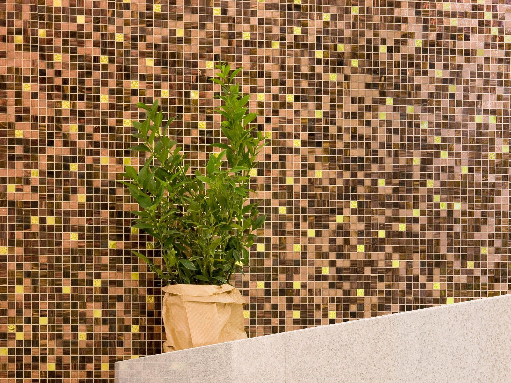 Mosaico in vetro mix 1x1 by trend group for Mosaico group