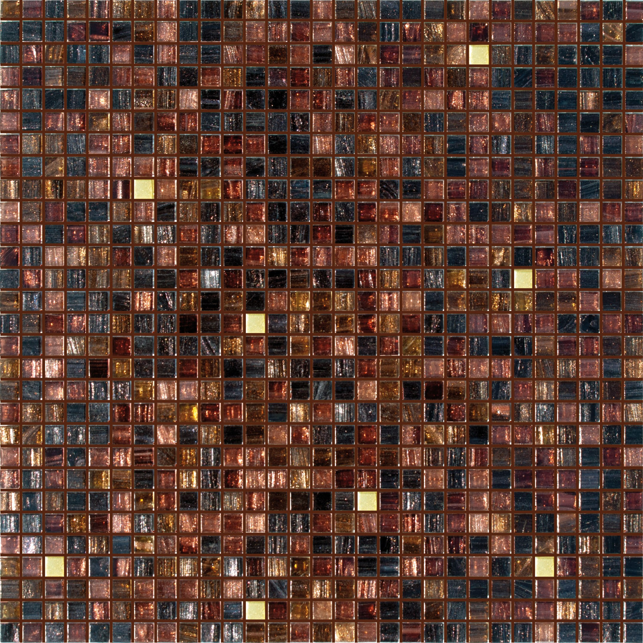 Glass Mosaic Mix 1x1 By Trend Group