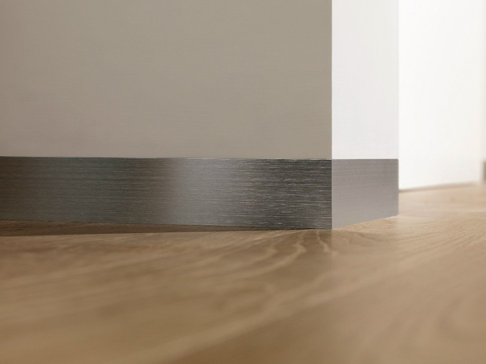 Aluminium Skirting Board Proskirting Flat By Progress Profiles