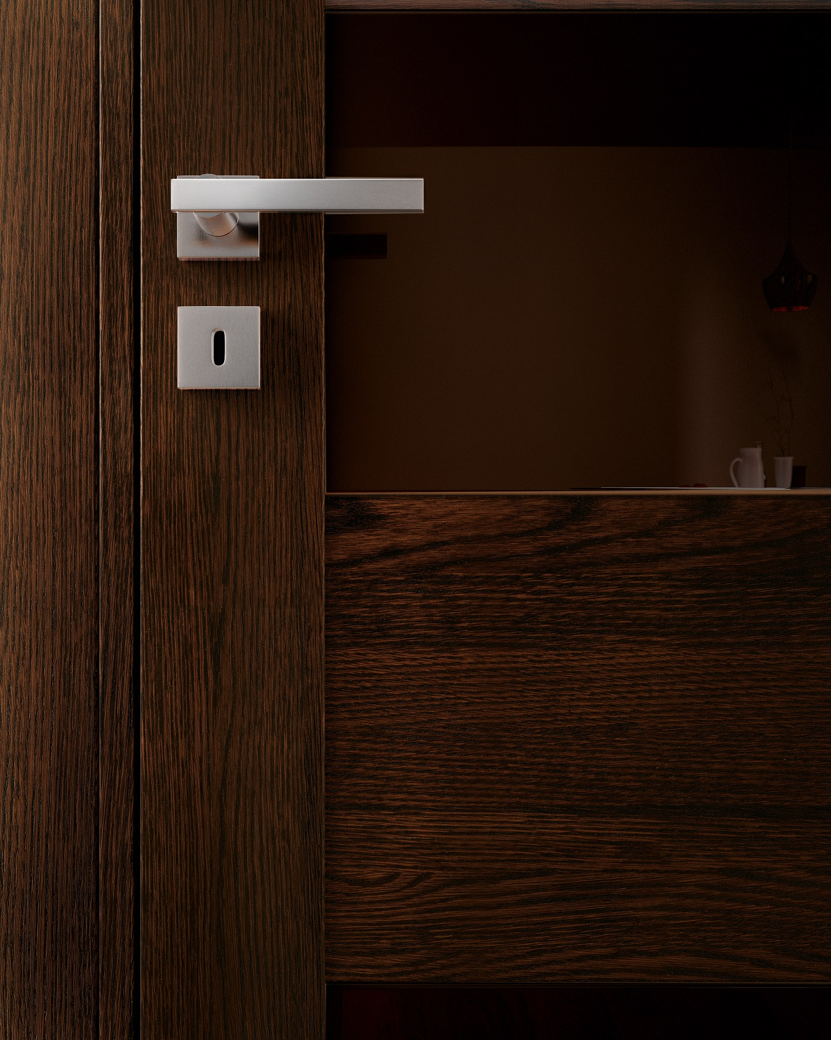 2068 #241208 Hinged Solid Wood Door GABILIA Wenge Door GAROFOLI save image Modern Solid Wood Doors 38671654
