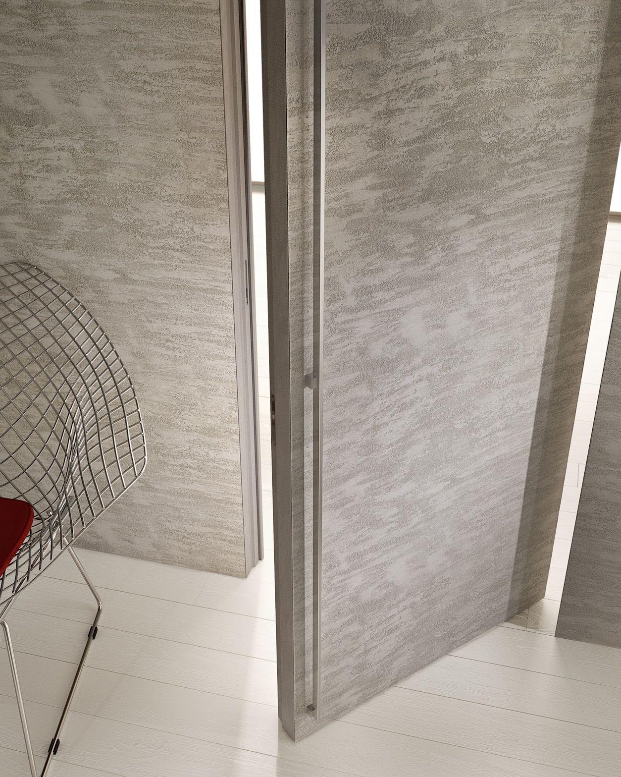 Filomuro porta in cemento by garofoli - Porta a filo muro prezzi ...