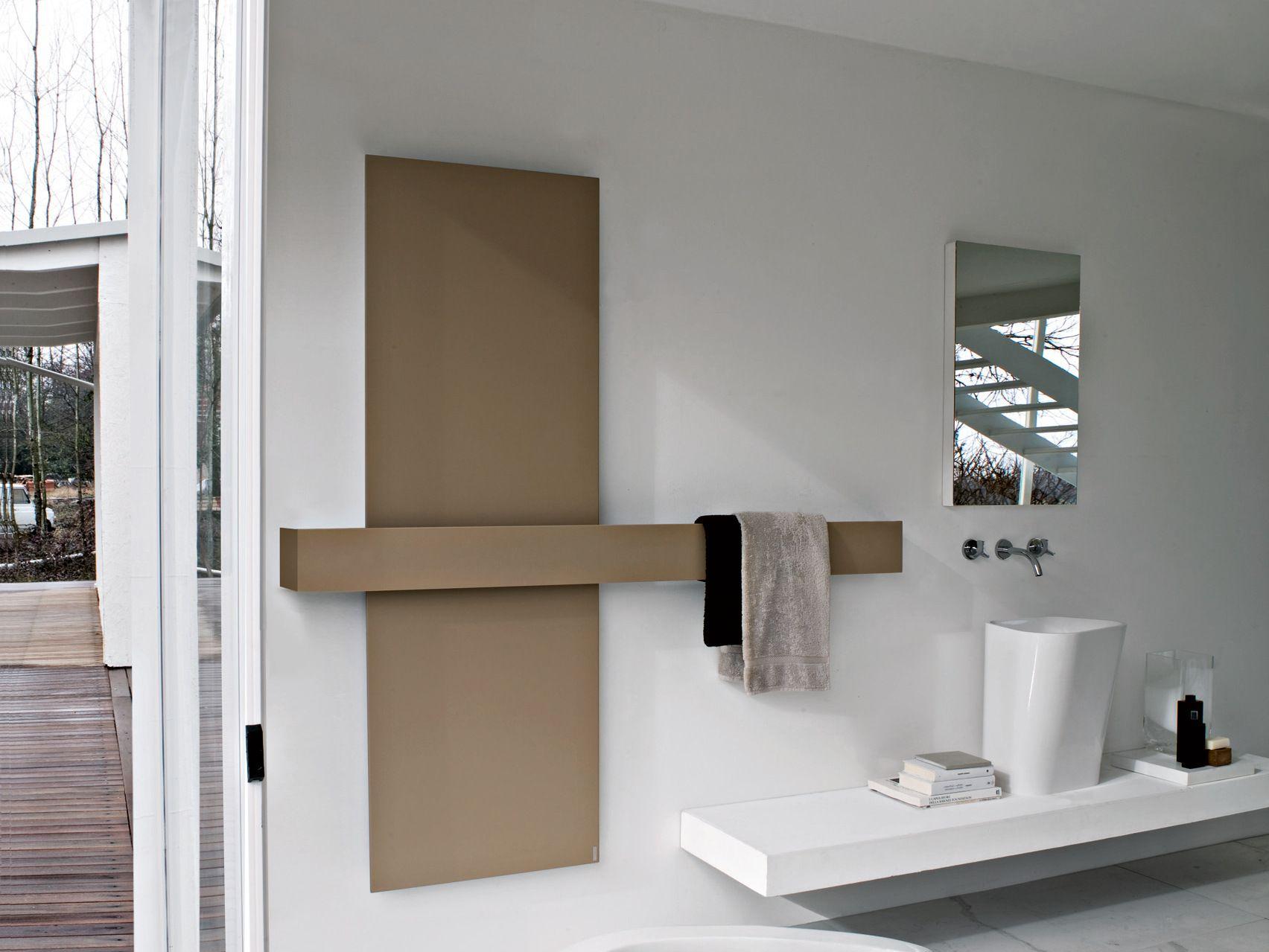 Termoarredo verticale in alluminio square termoarredo - Bidet portatile ikea ...