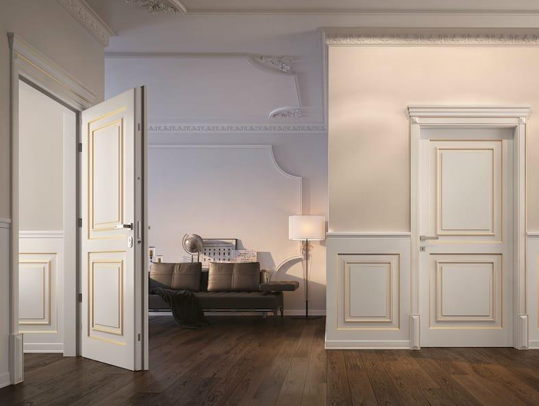 Sovrana porta d 39 ingresso blindata by garofoli - Garofoli porte blindate ...