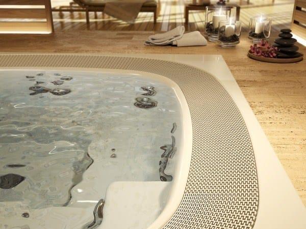 spa d bordement hydromassage 6 places enjoy by jacuzzi. Black Bedroom Furniture Sets. Home Design Ideas