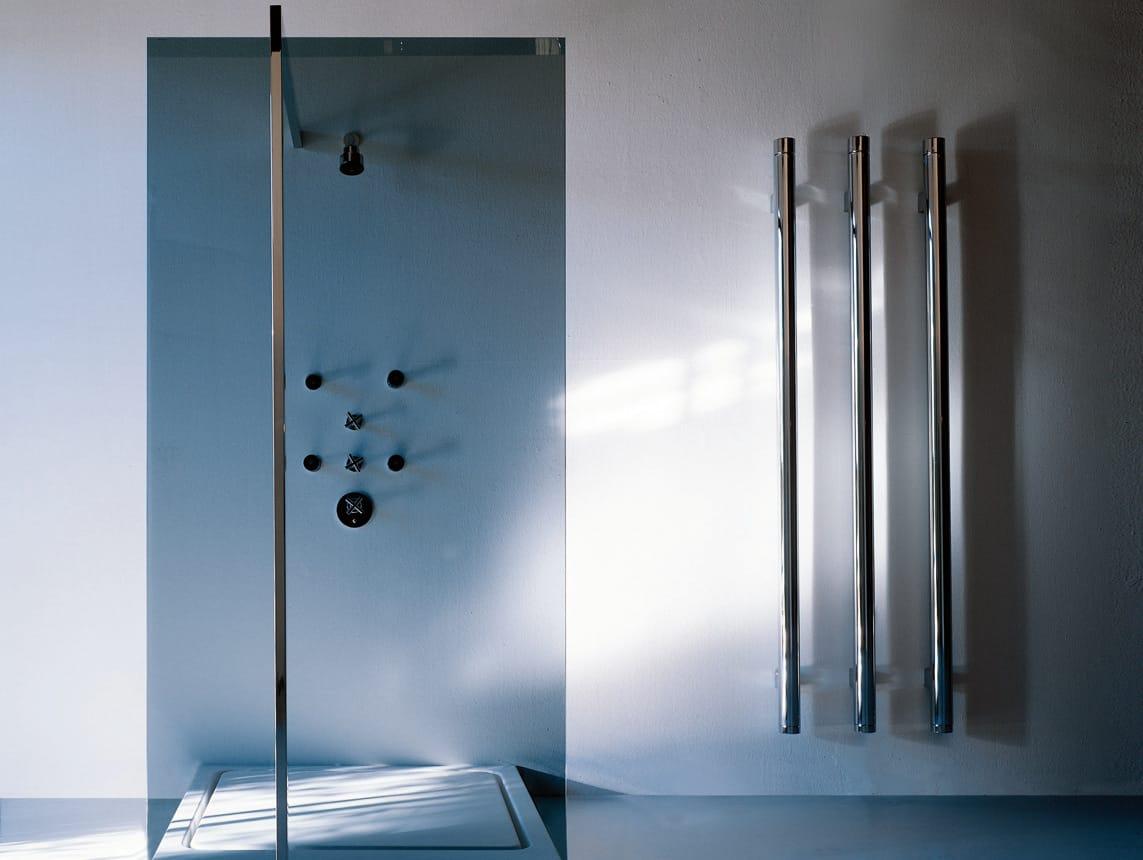 T b t termoarredo in ottone cromato by tubes radiatori - Termoarredo verticale ...
