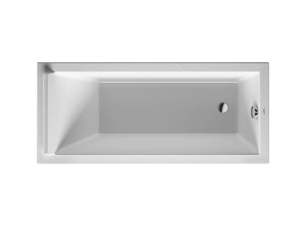Starck acrylic bathtub by duravit design philippe starck - Baignoire ilot duravit ...