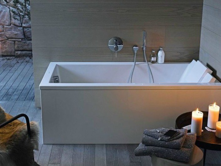 starck badewanne aus acryl by duravit design philippe starck. Black Bedroom Furniture Sets. Home Design Ideas