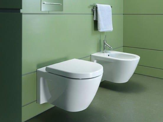 starck 2 wc aus keramik by duravit design philippe starck. Black Bedroom Furniture Sets. Home Design Ideas