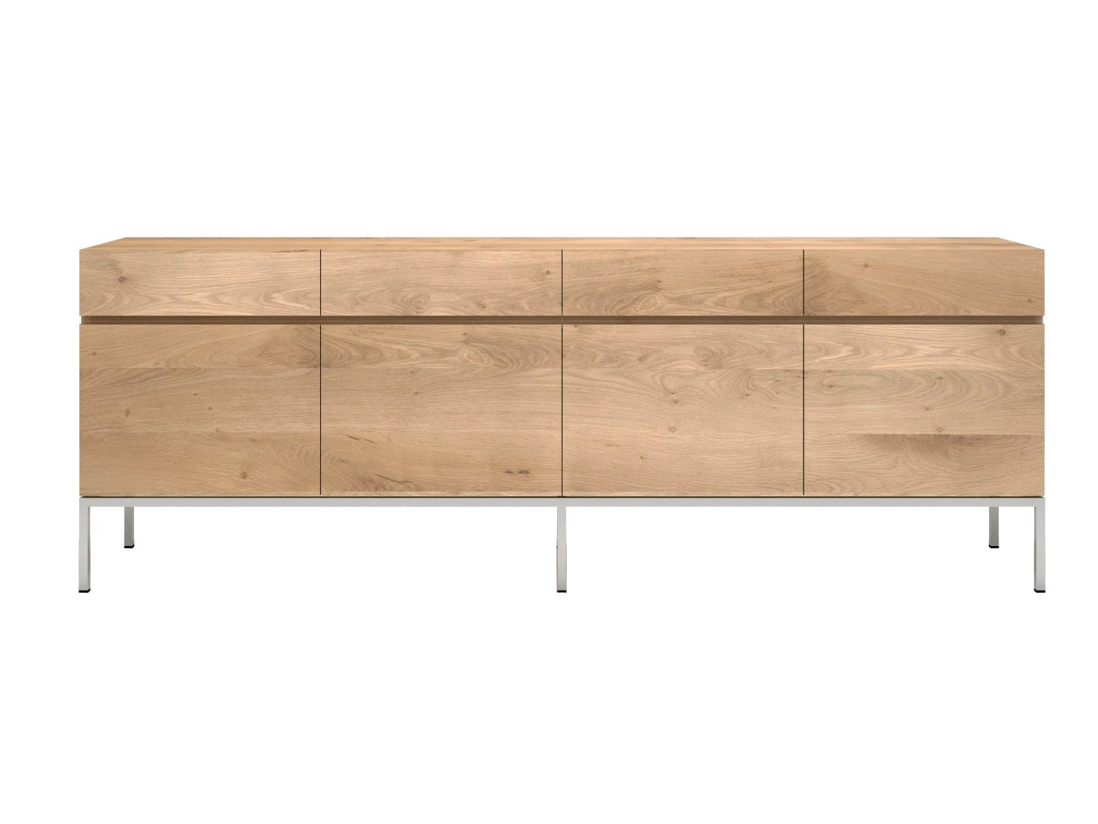 buffet en bois massif avec portes avec tiroirs buffet avec. Black Bedroom Furniture Sets. Home Design Ideas