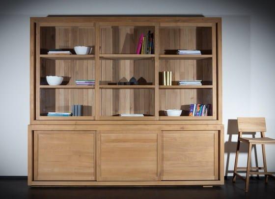 Oak Pure Vaisselier Portes Coulissantes By Ethnicraft