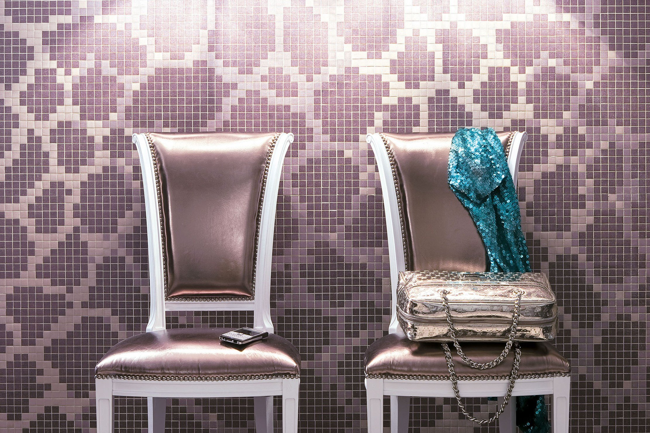 Mosaico in vetro wallpaper 1x1 by trend group for Mosaico group