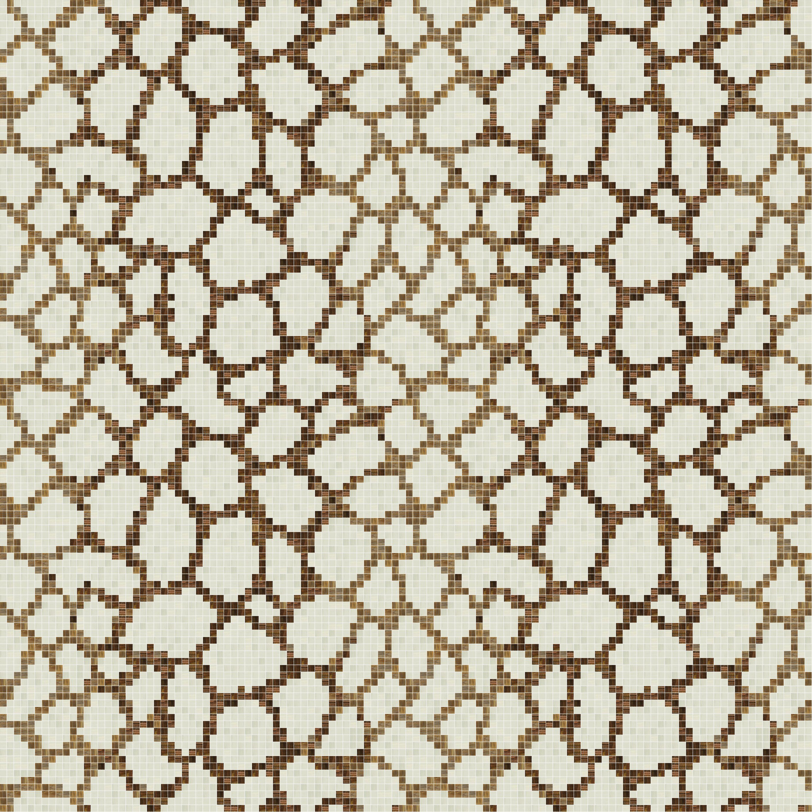 Glass Mosaic Wallpaper 1x1 By Trend Group