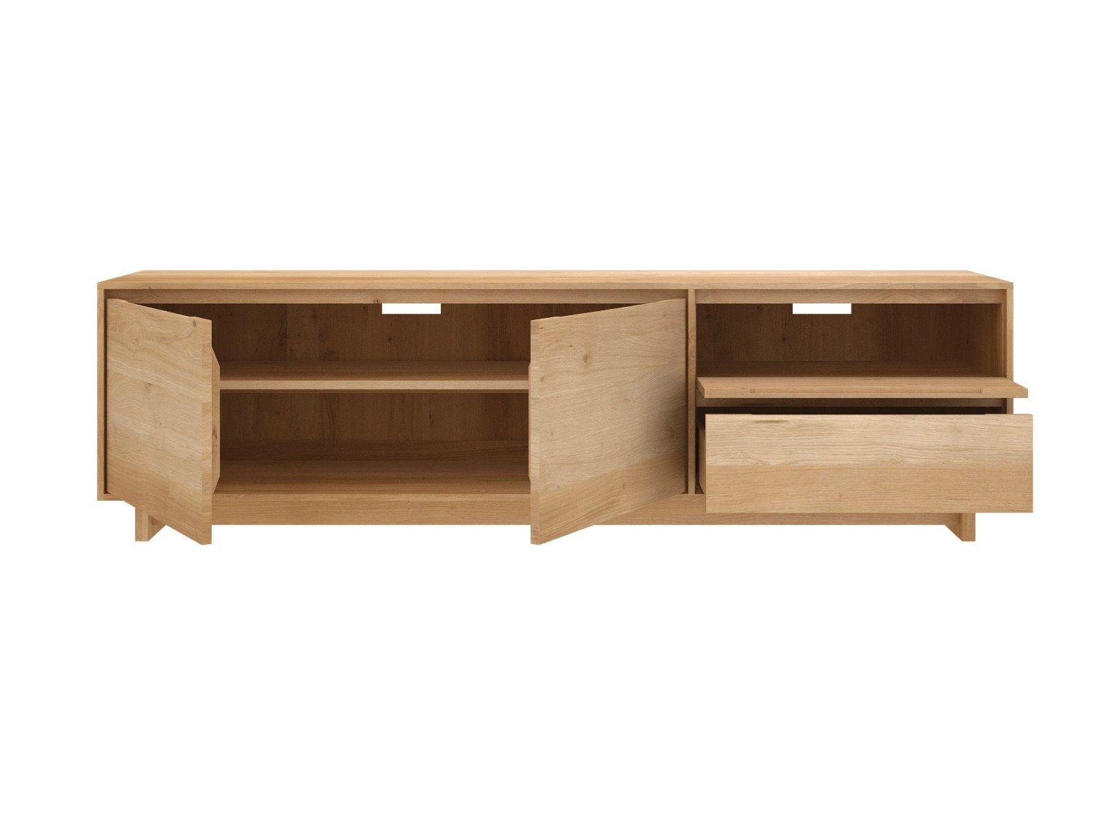 oak tv sideboard inspirierendes design f r wohnm bel. Black Bedroom Furniture Sets. Home Design Ideas