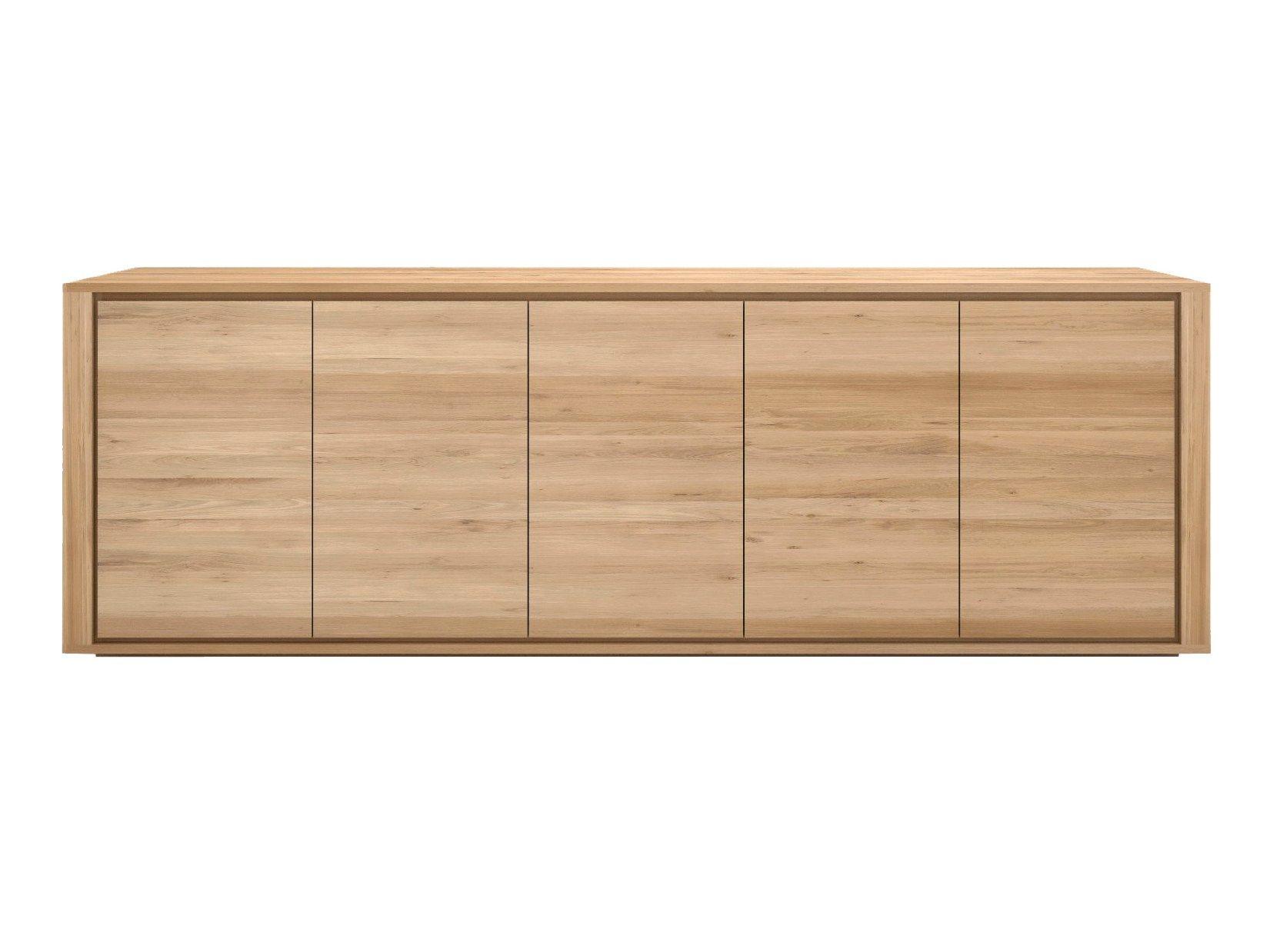 Oak shadow oak sideboard by ethnicraft for Sideboard 250 cm