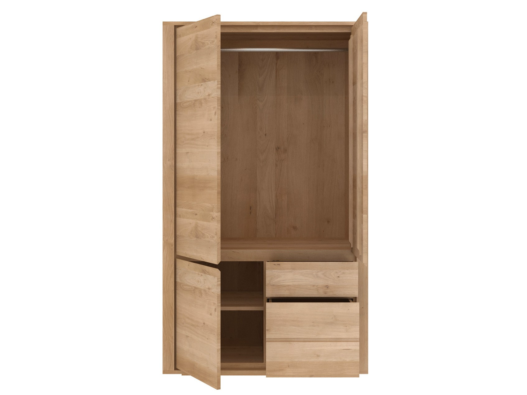 oak shadow armoire by ethnicraft. Black Bedroom Furniture Sets. Home Design Ideas