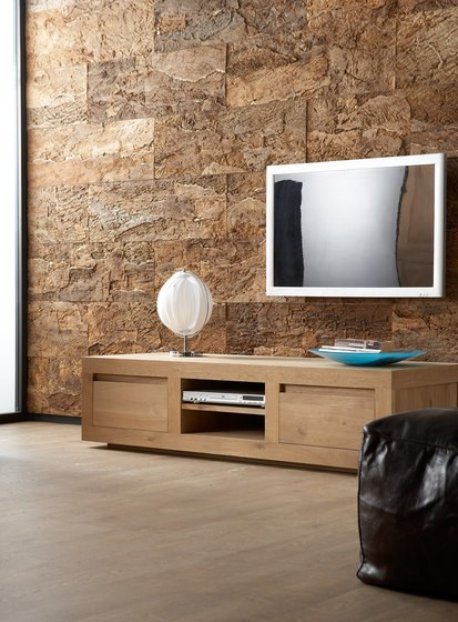 oak flat meuble tv by ethnicraft. Black Bedroom Furniture Sets. Home Design Ideas