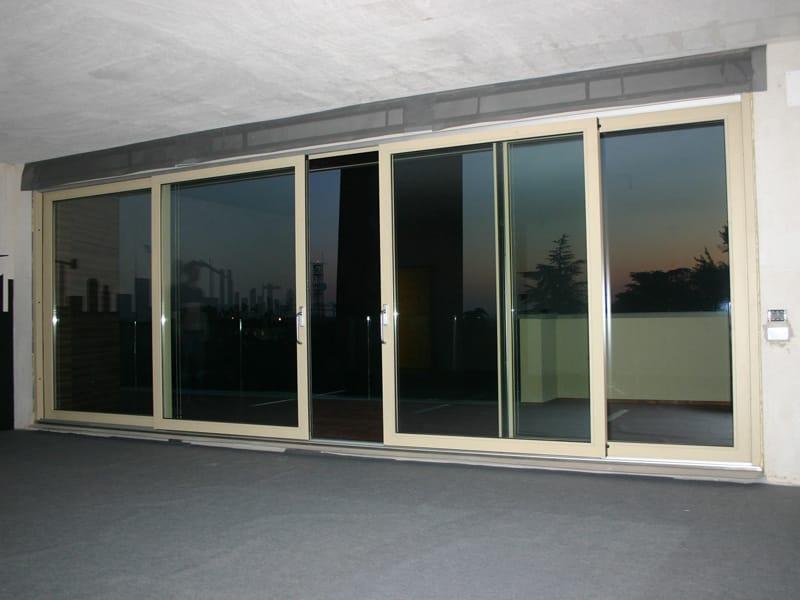 Schiebefenster aus stahl jansen alza e scorri by jansen for Schiebe fenster