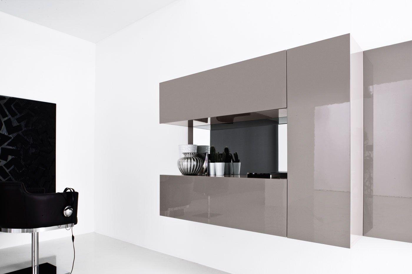 Wohnwand modern italian interessante ideen for Wohnwand italian design