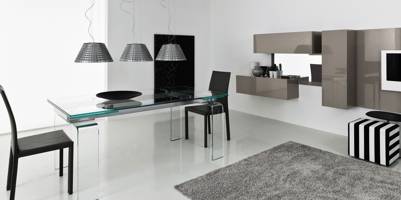 VIVRE TV wall system by ITALY DREAM DESIGN