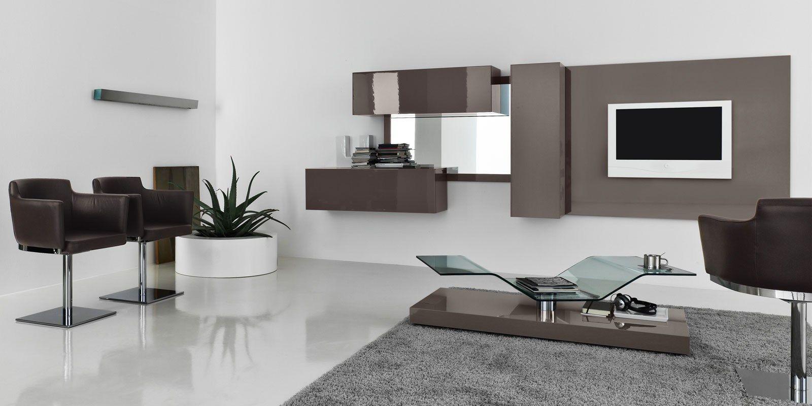 wohnwand modern italian interessante ideen. Black Bedroom Furniture Sets. Home Design Ideas