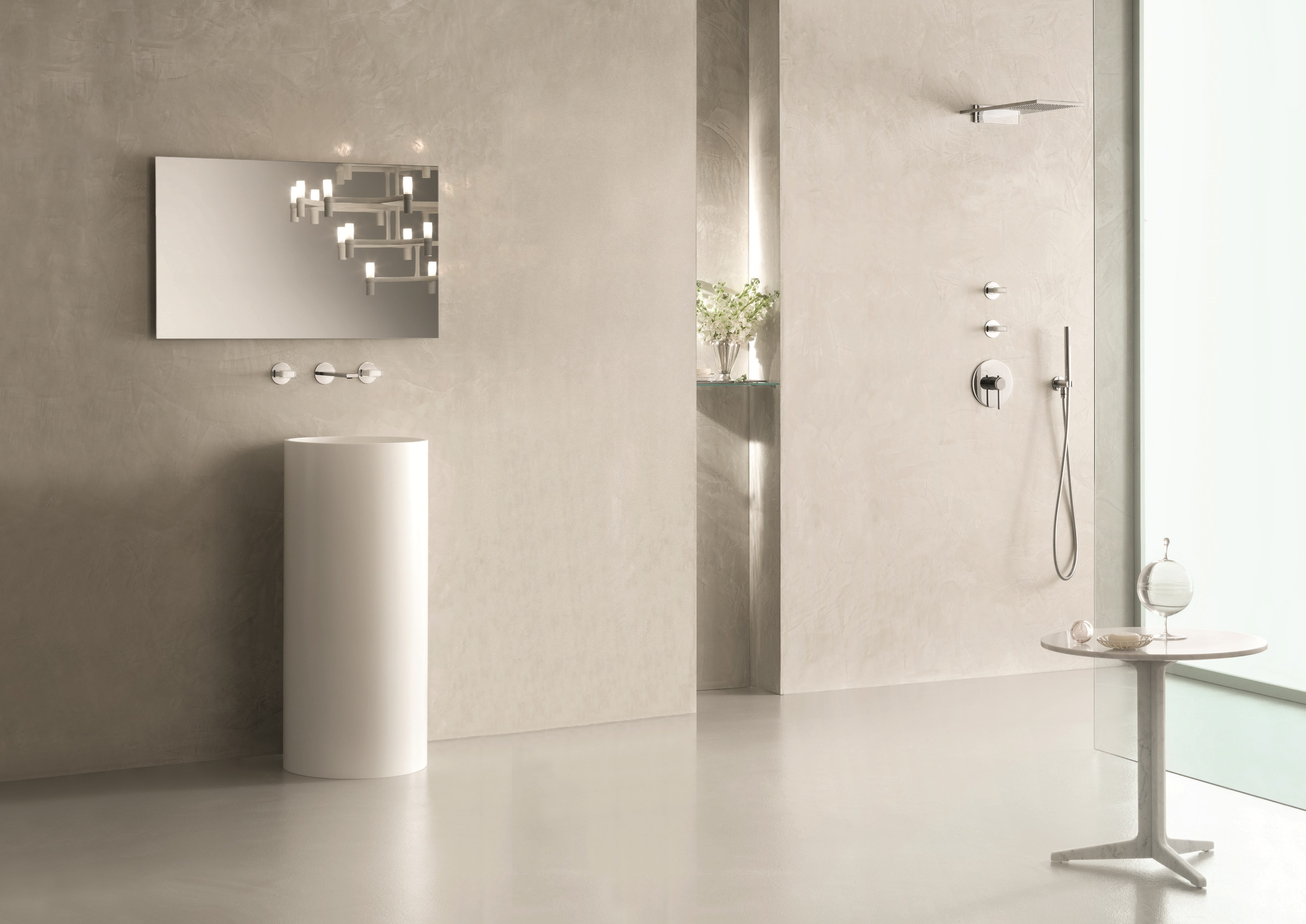 Venezia in wall mounted washbasin tap by fantini rubinetti for Rubinetti design